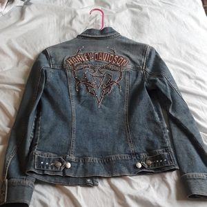 Harley Davidson denim jacket size small